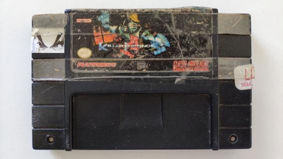 Killer Instinct Original Super Nintendo Snes Cartucho Fita