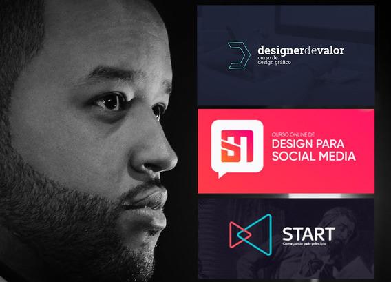 Curso Start + Design De Valor + Design Para Media + Brindes