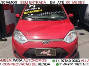 Fiesta 1.6 Rocam 2014 Flex Zero De Entrada