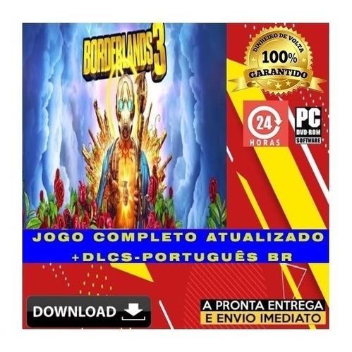 Borderlands 3 - Pc - Digital - Legendas Português + Brinde