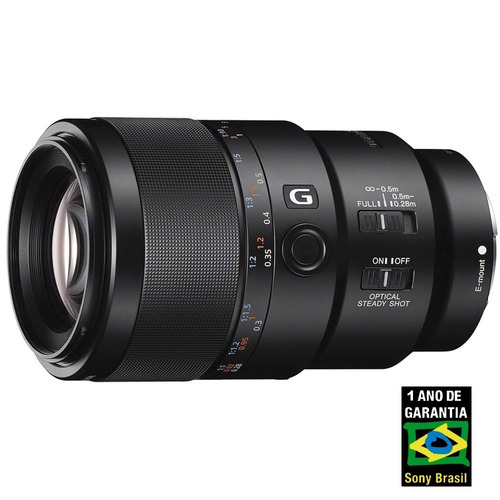 Lente Sony Fe 90mm F/2.8 Macro G Oss E-mount (sel90m28g)