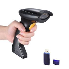 Leitor Wireless Código Barra Laser Sem Fio Usb 5600