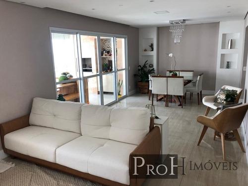 Imagem 1 de 14 de Apto 123m² 3 Dorms, 1 Suíte E Lazer Completo - R$ 919.000,00