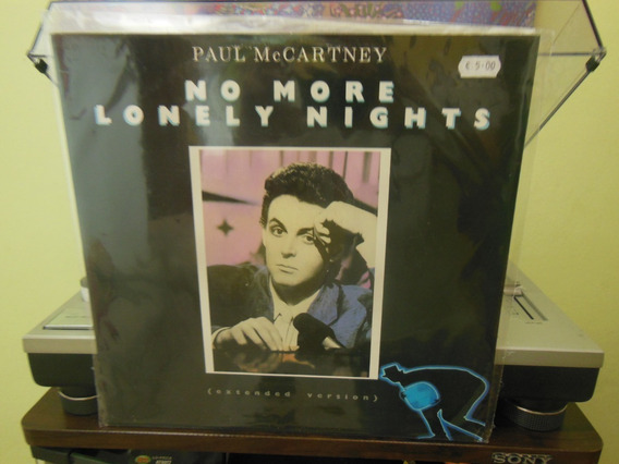 Paul Mccartney No More Lonely Nights 12 U.k. 1984!