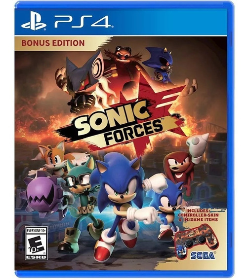 ¡¡ Sonic Forces Para Ps4 En Wholegames ¡¡
