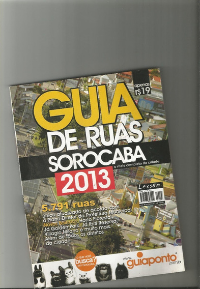 Guia De Ruas Sorocaba 2013