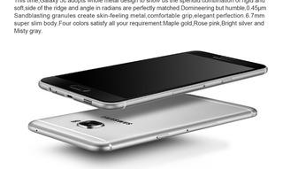 Celular Samsung C5000