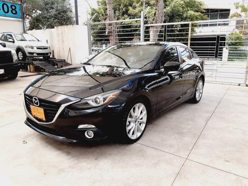 Imagen 1 de 13 de Mazda Mazda3 Automático Negro Excelentes Condiciones