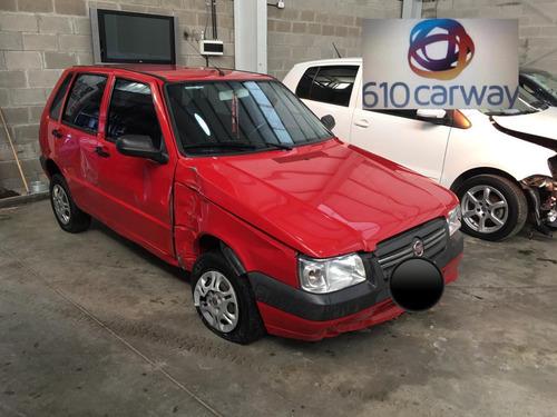 Fiat Uno Fire Confort Aa 2014 Chocado/chocados Nq