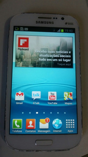 A Celular Samsung Grand Duos I9082 8gb Defeito Touch