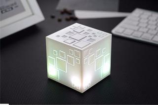 Bocina Bluetooth Portátil Cubrik Kabumi Color Blanco