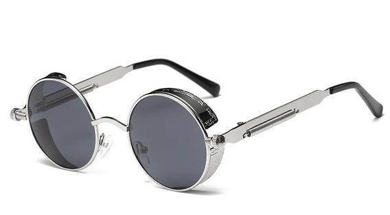 Óculos De Sol Modelo Redondo Masculino Feminino Proteção Uvb