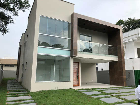 Casa A Venda Em Alphaville Manaus 1, 04 Suítes, 06 Banheiros, Área 437,00 M², Ponta Negra - Manaus - Ca00081 - 32603444