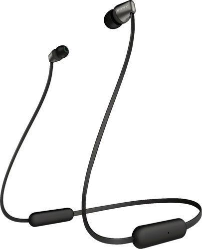 Imagen 1 de 7 de Audífonos Inalámbricos Sony Color Negro Wic310/b