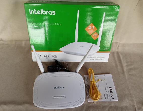 Roteador Intelbras 300mbps Iwr 2 Antenas - Novo/ Garantia