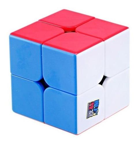 Cubo Mágico 2x2x2 Moyu Meilong 2 Colorido Pronta Entrega