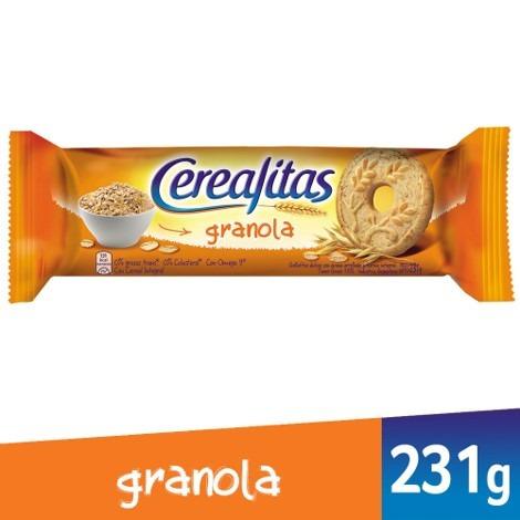 Imagen 1 de 1 de Galletitas Cerealitas Granola X231g