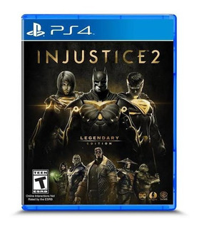 Injustice 2 Legendary Edition Ps4 Físico Envío Gratis Y Msi!