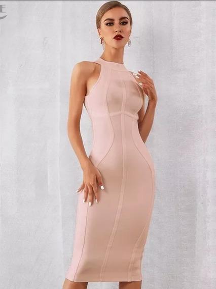 Vestido Midi Elegante Moda Evangélica 2020