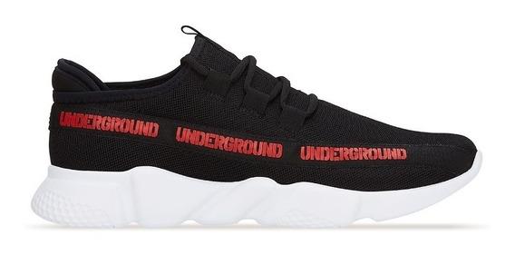 Sneaker Low Top Hombre Negro Ligero 2657486 Ferrato O