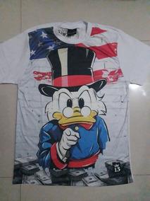 Camisa Camiseta Tio Patinhas Irmãos Metralhas