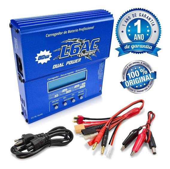 Carregador Bateria Leão L6ac Original C/ Nfe Garantia 1 Ano