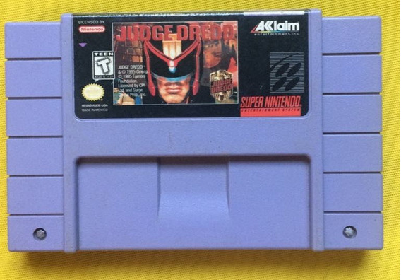 Judge Dredd Original Snes