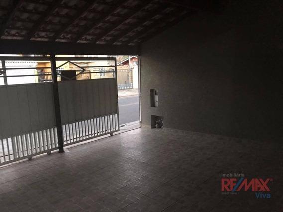 Casa Com 2 Dormitórios Para Alugar Por R$ 1.350,00/mês - Jardim Das Palmeiras - Atibaia/sp - Ca5026