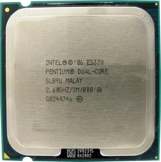 Processador Intel Dual Core E5300 2.60ghz Lga775 Desktop