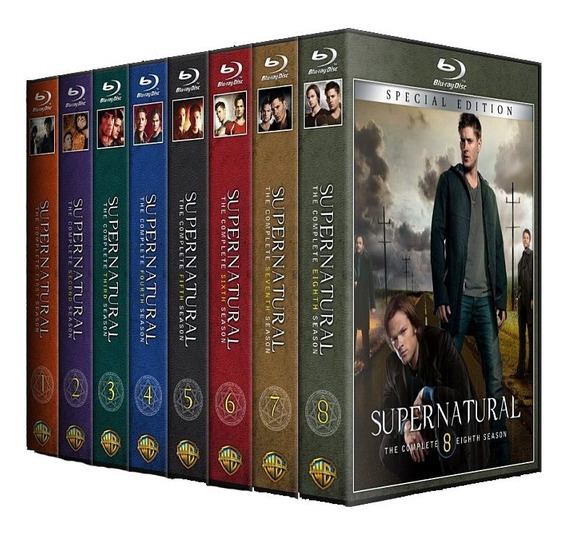 Sobrenatural 1,2,3,4,5,6,7,8,9,10,11,12,13 Temp. Dvd Dublado
