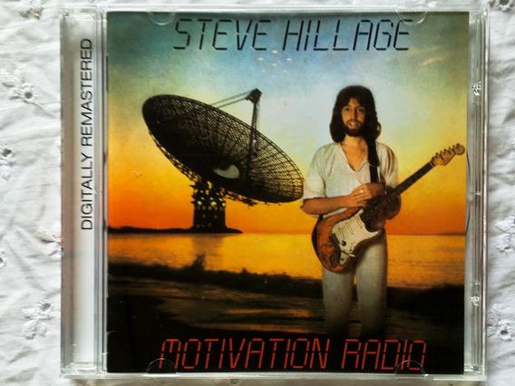 Cd Steve Hillage (remastered + 3bonus) - Motivation Radio