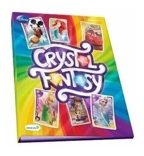 Álbum Crystal Fantasy Magia Dos Cristais - Copag Porta Cards