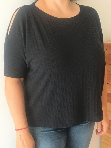 Blusa Remeron Cuesta Blanca Negro O Fucsia