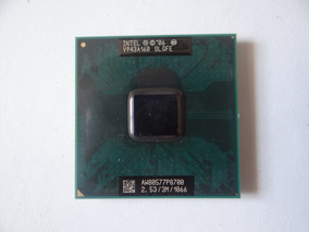 Processador Notebook Intel Core P8700 2.5ghz Cache 3mb Slgfe