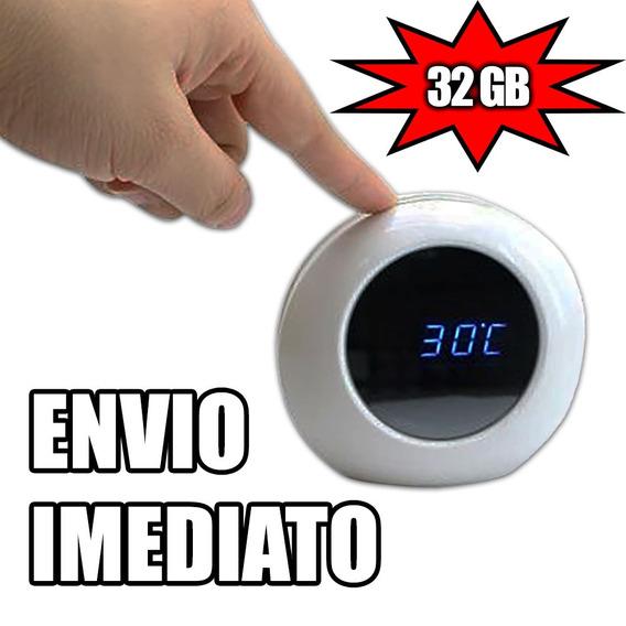 Relogio Importado Micro Cameras Para Residencia Mini 32gb