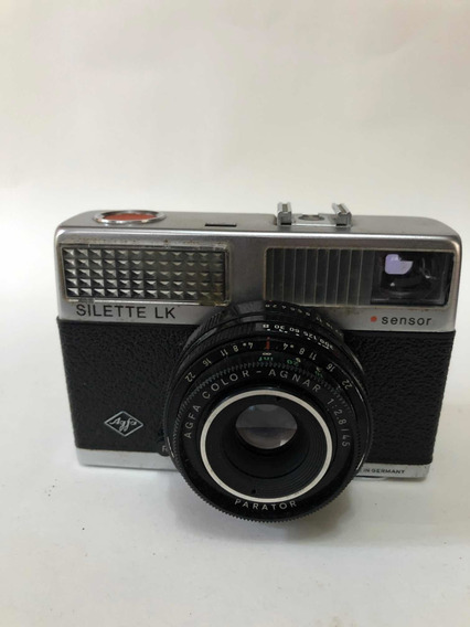 Câmera Fotográfica Analógica Agfa Silette Lk Made In Germany