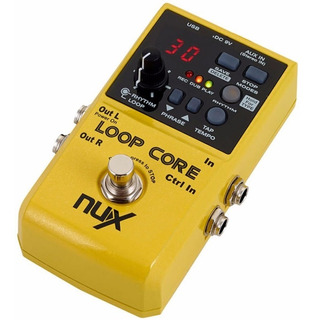 Pedal Nux Loop Core Ritmos Rc 3 Loopera True Bypass - Full