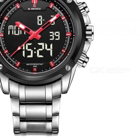 Relógio Masculino Naviforce Esportivo Original Promoção