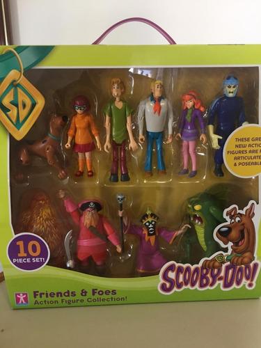 Scooby Doo Mistério - 10 Bonecos + Livrinho