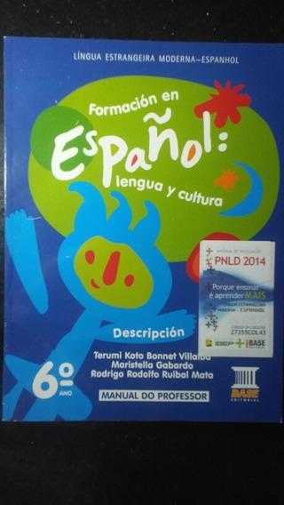 Livro - Formación En Español Com Cd Manual Do Professor