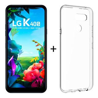 New LG K40s Octacore Novo Original Nf + Capa/película Grátis