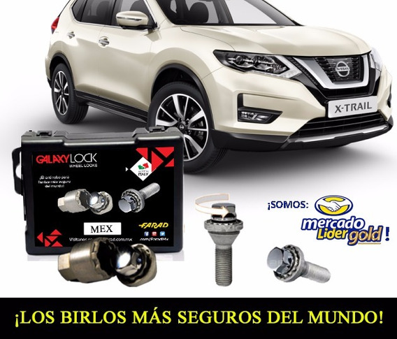 Birlos Seguridad Galaxy Lock X-trail Advance-envío-gratis!!!