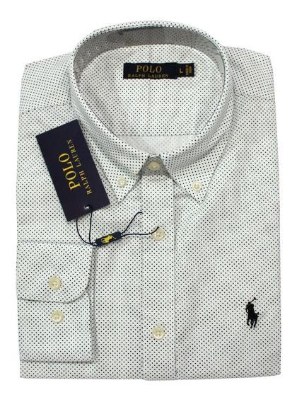 Camisa Social Polo Ralph Lauren Poa Cores Ax Hollister
