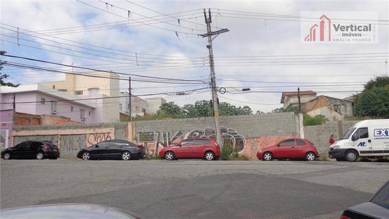 Terreno Residencial À Venda, Jardim Avelino, São Paulo - Te0264. - Te0264