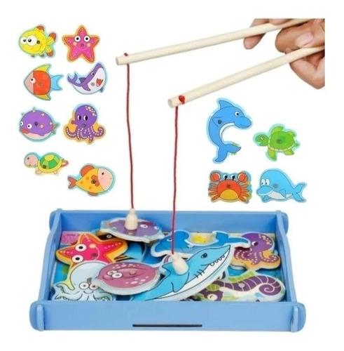 Pesca Milagrosa Juego Didáctico Motricidad Fina Montessori