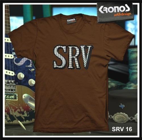 Remeras Stevie Ray Vaughan Rock Blues Guitarra Srv M.016