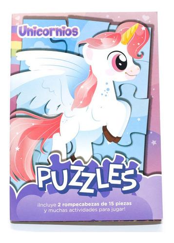 Libropuzzlesn° 1:unicornios