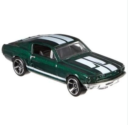 Carrinho Hot Wheels - Serie Velozes E Furiosos 67 Ford Musta