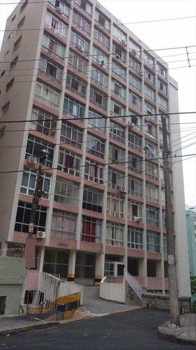 Imagem 1 de 12 de Apartamento Com 1 Dorm, José Menino, Santos - R$ 220 Mil, Cod: 153 - V153