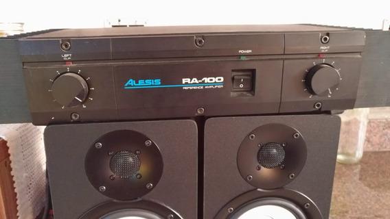 Amplificador De Referência Potência Alesis Ra-100